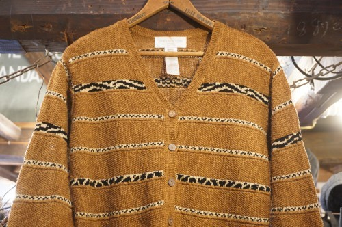 90's JONES NEW YORK linen cotton knit Cardigan