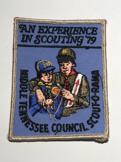 "OLD Patch""MIDDLE TENNESSEE COUNCIL SCOUT-O-RAMA"""