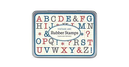 カバリーニ スタンプセットミニ/アルファベット大文字