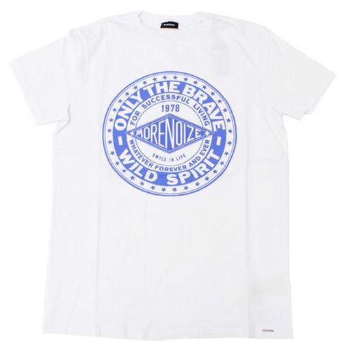 DIESEL センターロゴプリントTシャツ