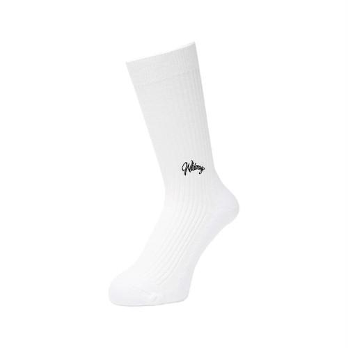 WHIMSY - 42/1 EMJAY SOCKS (White)