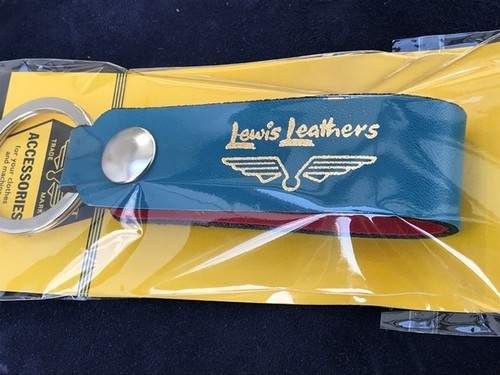 Lewis Leathers Colour Key Ring Mk1 vintage turquoise