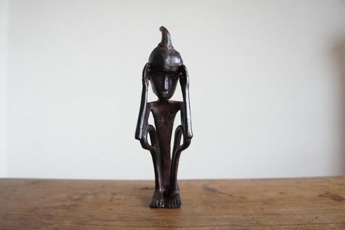 vintage iron figure