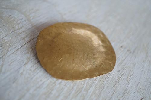 「真鍮アクセサリー」秋野ちひろ