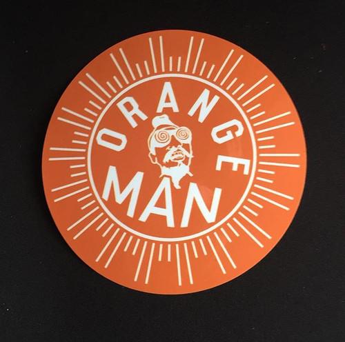 オレンジマン ステッカー(3枚)