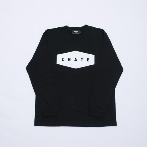 CRATE Logo L/S T-Shirts Black