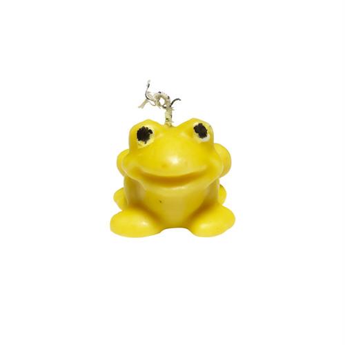 Yellow Frog Mini Candle