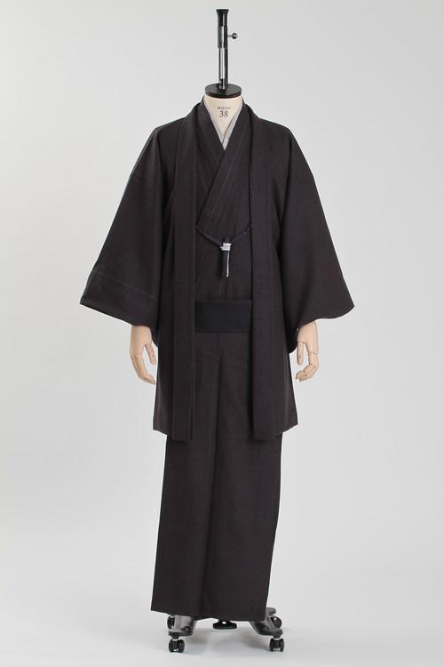 きもの&羽織 / T-KIMONO / Dark black(With tailoring)