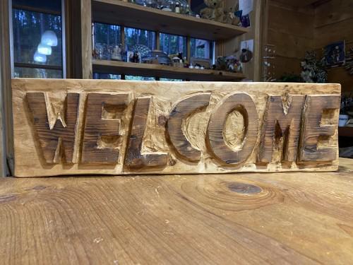 welcomeサインボード