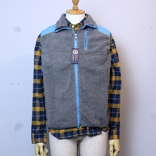 "【WINTER SALE!】Oregonian Outfitters(オレゴニアン アウトフィッターズ) ""Tillamook Fleece Vest"" ASH(アッシュ)"