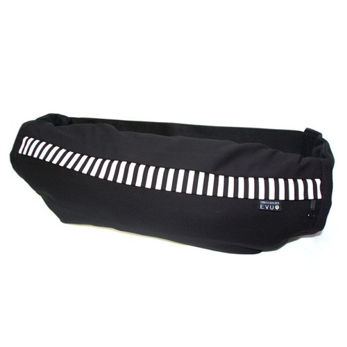 Black X stripe〈BABY CARRIER COVER CURUMI〉