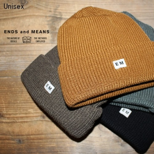 ENDS and MEANS ワッチキャップ Watch Cap EM172H026 (4color)