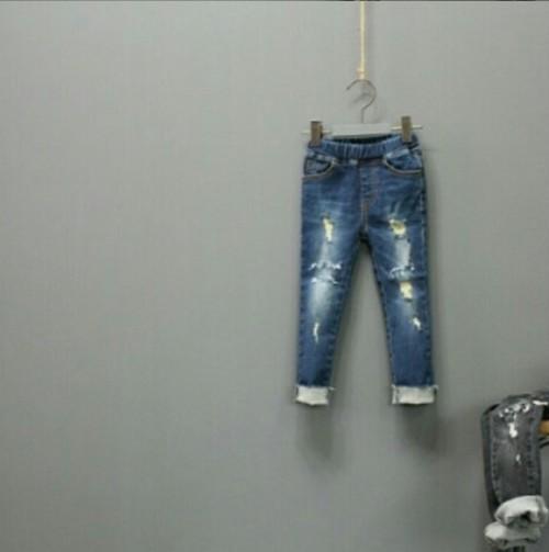 韓国子供服☆80~110㎝ スキニーデニム