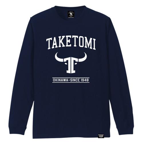 TAKETOMI TOWN LONG SLEEVE TEE