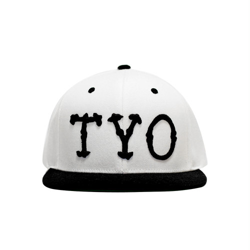 WasHere TYO KIDS SNAPBACK (WHITE/BLACK)