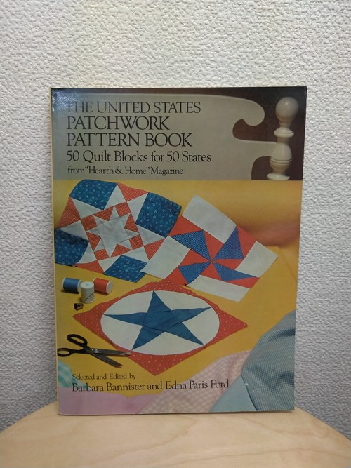 洋書 The United States Patchwork Pattern Book 1976 パッチワークパターン