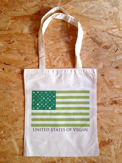 トートバッグ USV(United States of Vegan)(小)