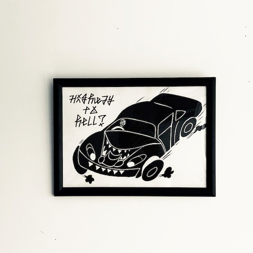 """HIGHWAY TO HELL?"" Diskah art works"