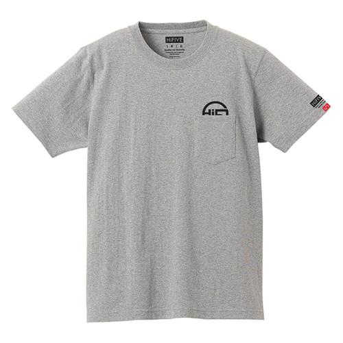 Hi FIVE  poket Tee  ポケット Tシャツ グレー