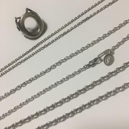 Silver925チェーン50cmアズキ4.0mm幅