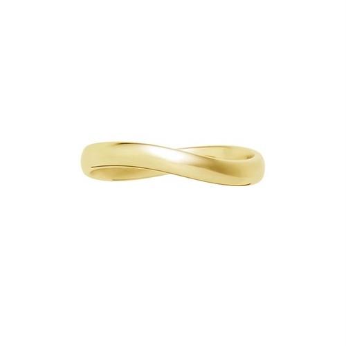 [約1ヶ月でお届け] ユニセックス 3mm幅 K18 結婚指輪 OCTAVE∞Cercle~輪~「終わりのない無限の輪 時を超えても変わらない永遠∞の絆」