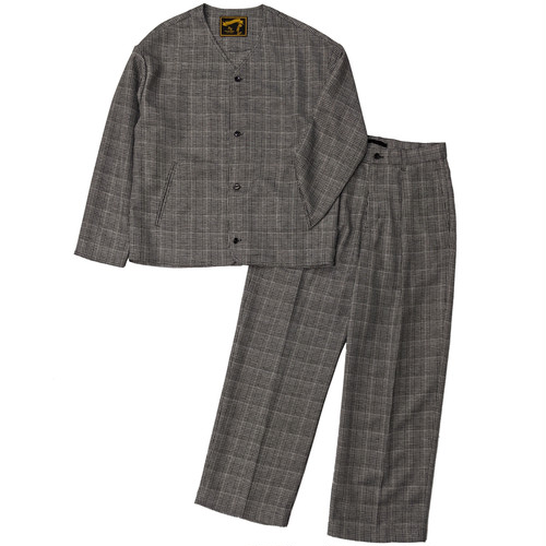 GRENCHECK SET UP / グレンチェック セットアップ(GRY)