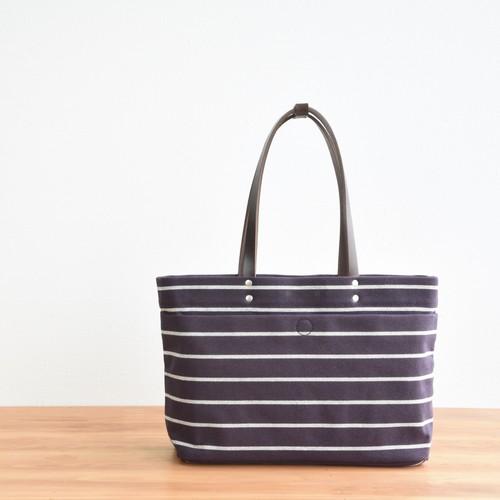 BORDER MAGAZINE TOTE S / DEEP PURPLE