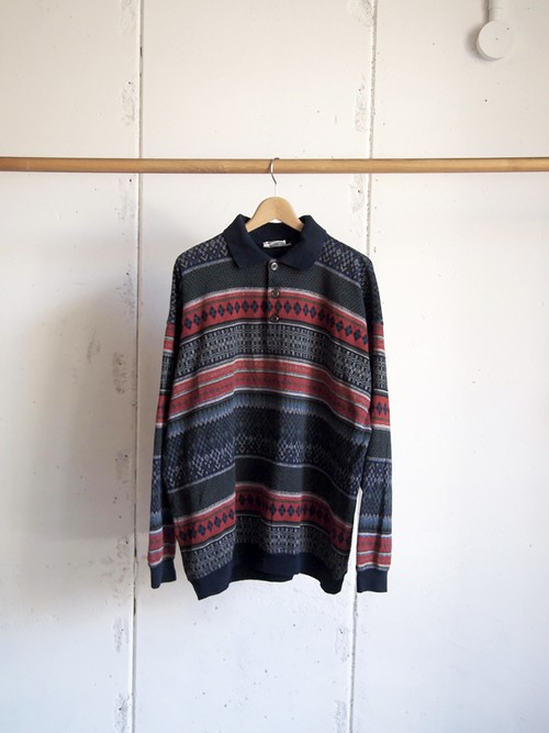 USED / COUNTRY LIFE BOUNDED WATERS by GRANTEX, Sweat polo