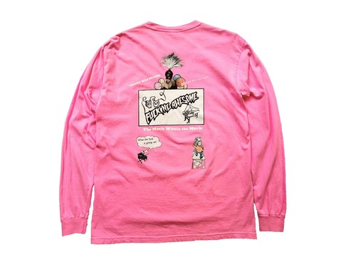 COLOR MOVIE L/S TEE / FUCKING AWESOME