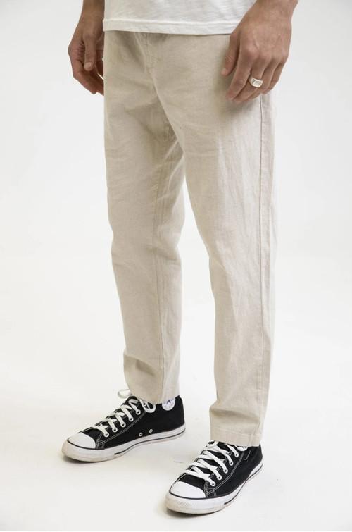 Rhythm メンズ パンツ Linen Sunday Pant Bone