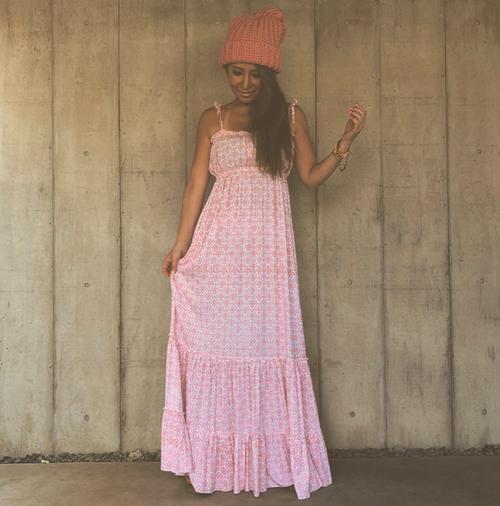 Mermaid Boho Maxi dress