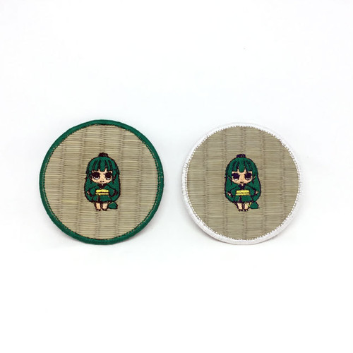 たたみタン刺繍畳コースター