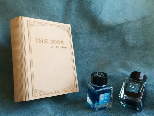 INK BOOK for four T