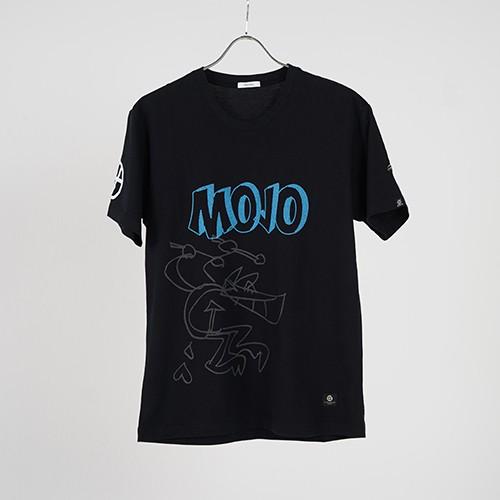 "TEE01 ""MOJO"" (BLACK) / GAVIAL"