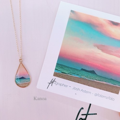 【foterra】Sunset is my favorite color ネックレス(14KGF)