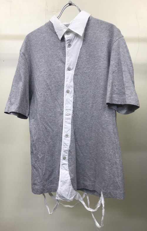 SS2004 HUSSEIN CHALAYAN DISTRESSED SHIRT