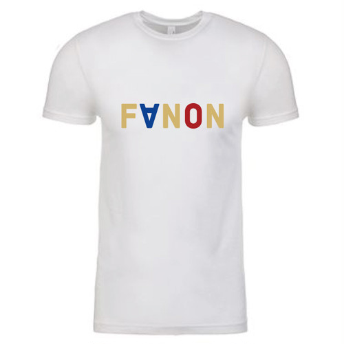 [MAN] FaNON TRI COLOR TEE -WHITE-