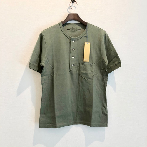 HENLY NECK T-S (GREEN) / GERUGA