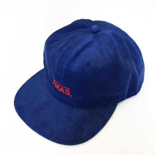 HAND RAIL CORD SNAPBACK / Blue×Red