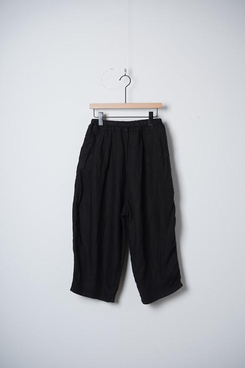 LINEN BALL PANTS/OF-P094