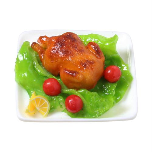 [0602]食品サンプル屋さんのマグネット(ローストチキン)
