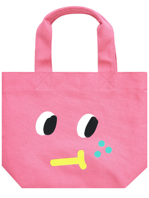 【SLOWCOASTER】PINK FRECKLE TOTE