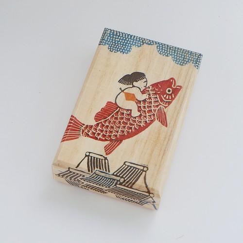 [桐箱C]   鯉のぼり