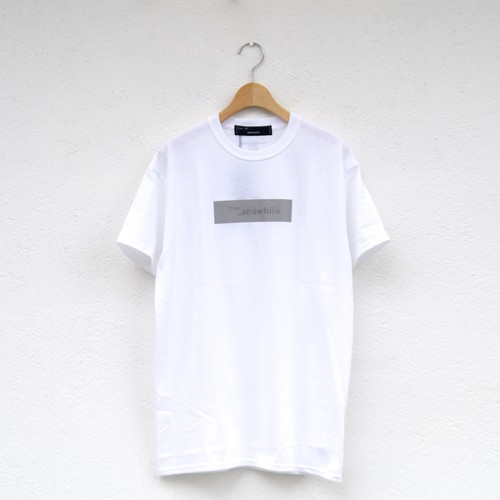 meanswhile  Lenticular Reflect Logo Tee