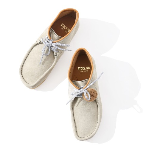 BAL×STOCK NO: MOCCASIN SHOES(Cream)