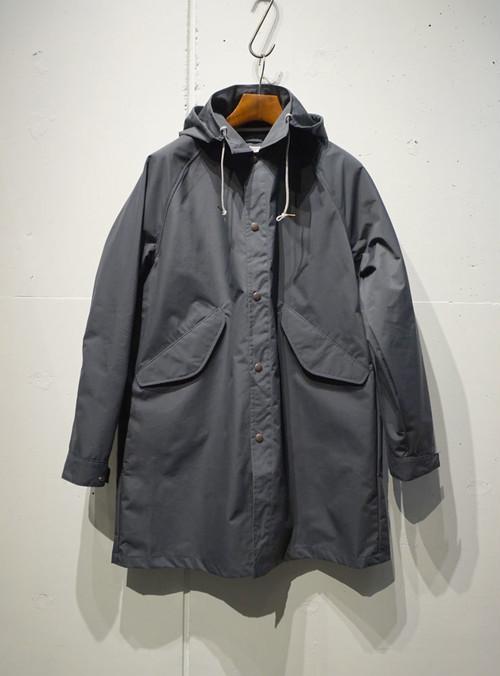 FUJITO Hood Coat チャコール