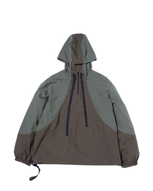 Packable Anorak Parka / OLIVE