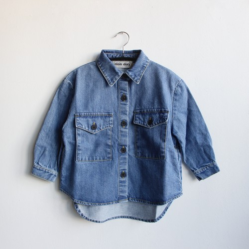 《main story 2021SS》Denim Jacket / Stonewash