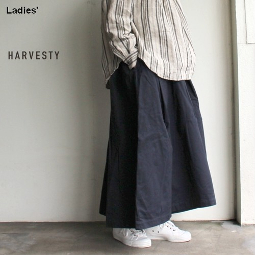 HARVESTY カルメンキュロット Carmen Culottes  A21802 (NAVY)