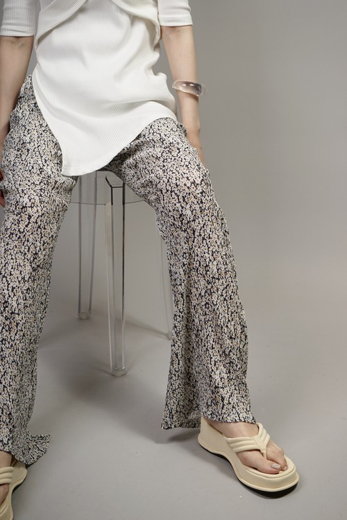 FLOWER FLARE PANTS (YELLOW) 2106-82-29